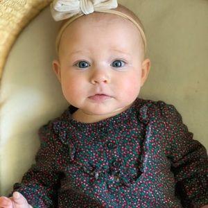 Baby/ kids/ Floral long sleeve long pant romper.